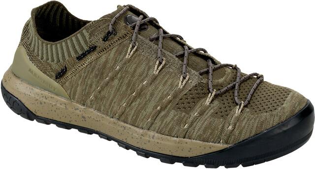 Mammut Klettergurt Alpine Light : Mammut hueco knit low shoes men olive light campz